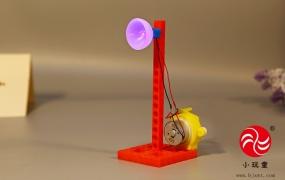 科学实验-手摇发电机