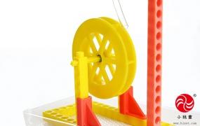 科技小发明-水轮车