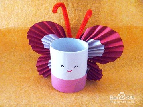卫生纸筒手工制作蝴蝶