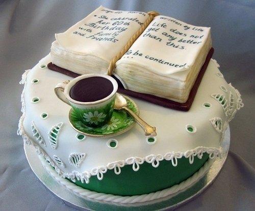 创意手绘蛋糕图案