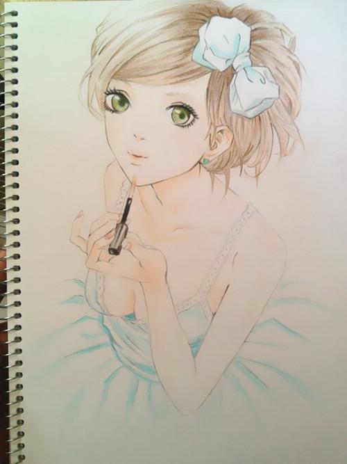 > 一些漂亮的手绘作品.
