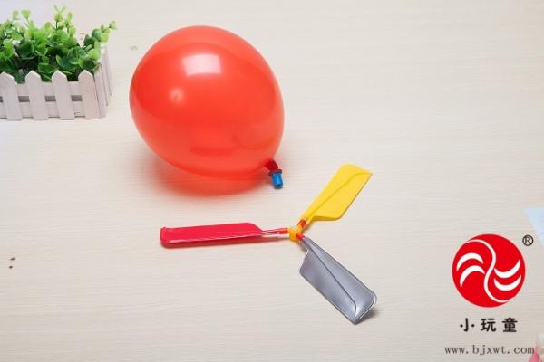 创意 > 儿童科学实验玩具 科技小制作材料幼儿园科学小发明 气球直升图片