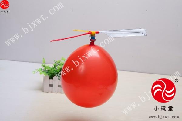 > 儿童科学实验玩具 科技小制作材料幼儿园科学小发明 气球直升机