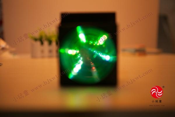 > 儿童科技小制作 科普器材科学实验玩具diy材料物理小发明灯光隧道