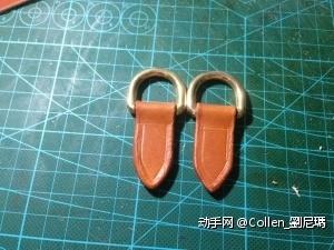 耳朵做好~内环2cm的纯铜D扣~~再加长1cm-2cm会好看点。。。。