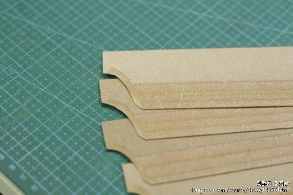 背面也要削薄,可以减少卡位重叠的厚度