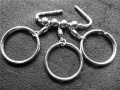 DIY钥匙包配件 不锈钢钥匙排
