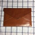 ipad 植鞣革信封包