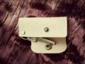 意大利植鞣牛皮钥匙包