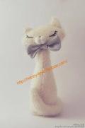 玩偶DIY-优雅的猫咪