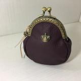 紫色软皮零钱包
