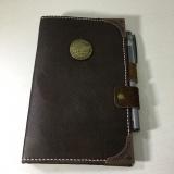 皮质复古笔记本