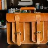 植革剑桥包手提包