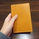 牛皮护照夹
