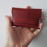 意大利植鞣油蜡小牛皮 卡包、钱包、零钱包