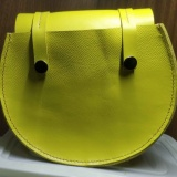 黄色单肩包