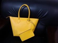 给老婆做的柠檬黄挎包