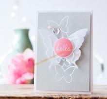 【手工纸艺分享】Hello,Butterflies~