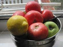 手工青苹果西红柿香草果酱