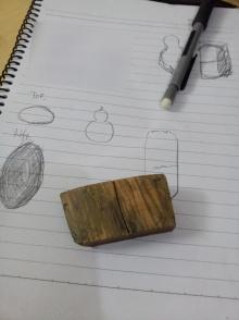 再次拿起雕刻刀的第一件作品_手把件