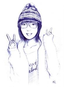 个人手绘4
