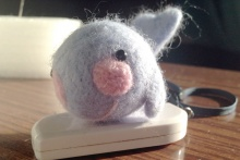 羊毛毡小海豚