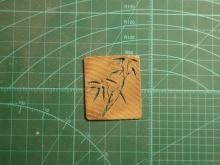 橡木雕刻...