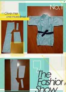 車縫和服浴衣