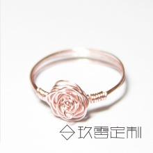 【 绕线首饰】玫瑰戒指