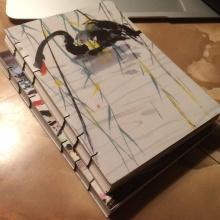 【Bookbinding】自制装订笔记本/绘画本