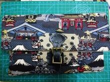 日式布艺平板包