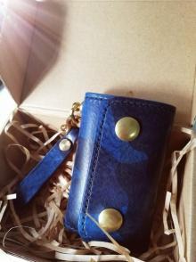 蓝色迷彩 钥匙包~香