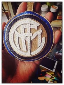 国际米兰队徽挂件