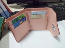 简单的三折钱包