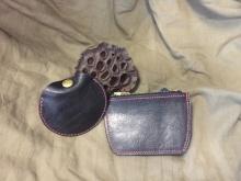 复古摔纹耳机包零钱包