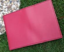 艳红皮革护照套