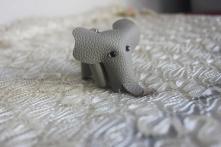 手工牛皮小象