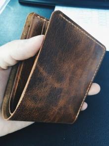 简约短钱包