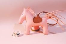 粉嫩手缝爱马仕小马小胖马