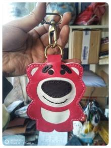 草莓熊钥匙包