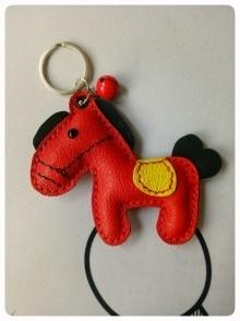 可爱小小马钥匙扣
