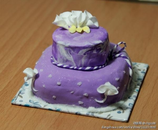 超轻彩泥蛋糕
