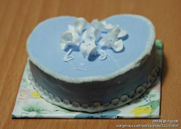 手办 > 超轻彩泥蛋糕  蛋糕甜美可爱,彩泥可塑性强 ,轻柔不费力,没有