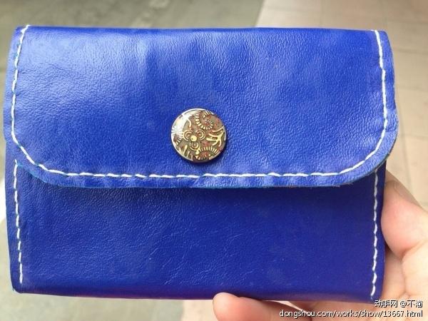 送闺蜜的零钱包 - 皮艺