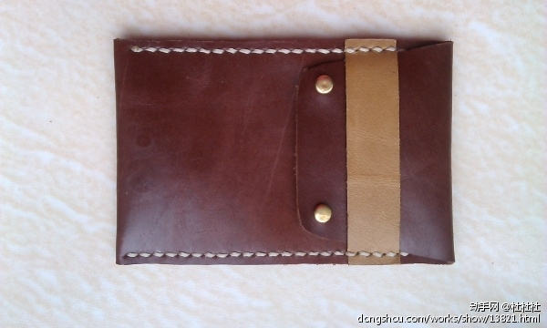 皮具制作-零钱包 - 皮艺