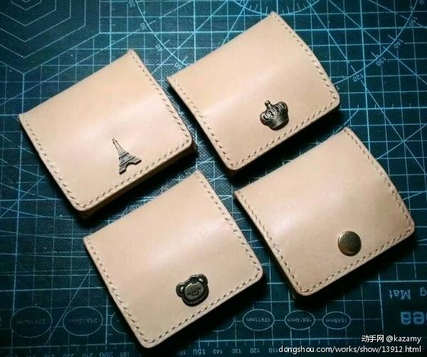 家族用零钱包 - 皮艺