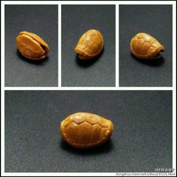 【六言一品】核雕·小金钱龟壳
