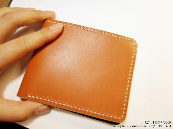 棕色牛皮钱包
