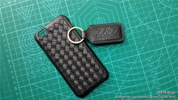 编织手机壳+钥匙扣