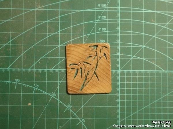 橡木雕刻. - 木工 - 作品